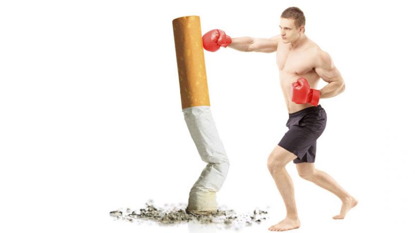 Dejarás a fumar subir la potencia